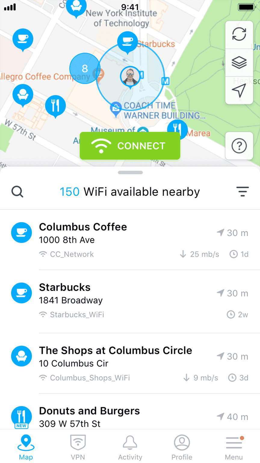 WiFi Map - #1 WiFi Finder
